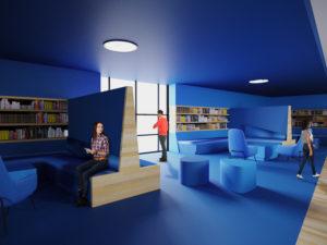 עיצוב ספריה מעוצבת עידית אבו