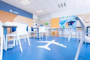 למידה באנגלית עיצוב כיתה