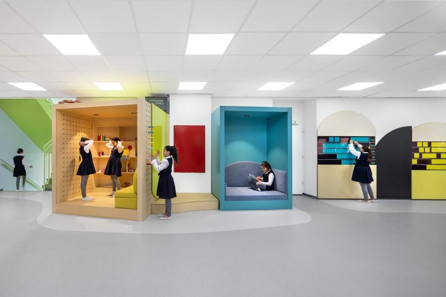 עיצוב פינות עבודה בבית הספר